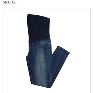 Mavi Colette Split Hem Maternity Skinny Jeans